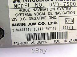 Mitsubishi Pajero V60 3 GPS NAVIGATION SYSTEM CONTROL MODULE UNIT 86841-70v180