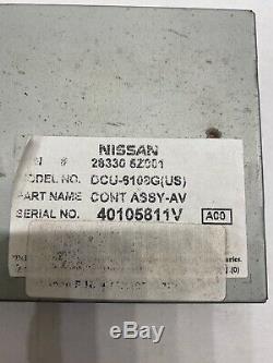 Nissan Titan Quest QX56 Info GPS NAVI Display Control Module Unit 28330-5Z001