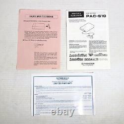 Pioneer Laseractive Sega Genesis CD Control Pack PAC-S10 Module Untested