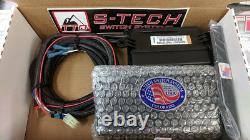 S-Tech 4 Switch System with Relay Center Red Kit fits 2014-2018 Toyota 4Runner