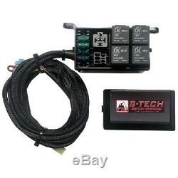 S-Tech 4 Switch System with Relay Center Red Kit for 2018 Jeep Wrangler JL