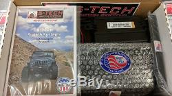 S-Tech 6 Switch System with Relay Center Blue Dual LED 09-18 Jeep Wrangler JK