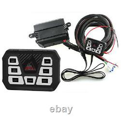 S-Tech FX Switch Pod System with relay center fits Universal/Truck/SUV/Car/UTV