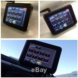 SPOD 8 Circuit SE System with Touchscreen Module For 2007-2018 Jeep Wrangler JK