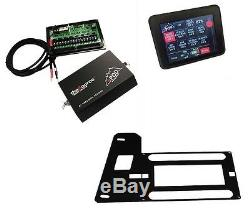 SPOD 8 Circuit SE System with Touchscreen Module fits 2007-2018 Jeep Wrangler JK