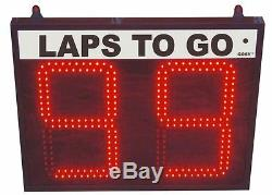 Token Number Display/Take a number system/Lap Counter- 2 digit 10 high numbers