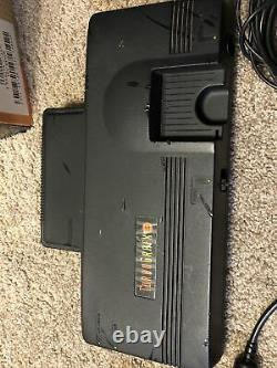 Turbo Grafx 16 Game Console, TurboTap 5, RF module, 2 Controllers, & Boxyboy