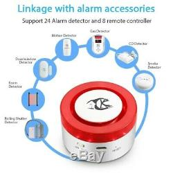 Wifi Alarm System For Smart Home Google Home & Alexa Compatible, APP Controlled