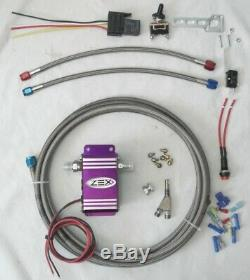 ZEX Universal Wet Nitrous System Kit WOT Solenoid Control Module 175HP Max