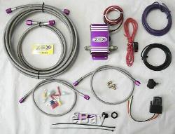 ZEX Wet Nitrous System Kit EFI Control Module, Nozzle, Jets, Lines, Switch