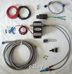 ZEX Wet Nitrous System Kit Solenoid Control Module, Nozzle, 35-175HP