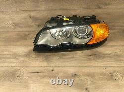00 03 Bmw E46 Coupe 325ci 330ci Avant Côté Gauche Xenon Hid Phare Phare Oem