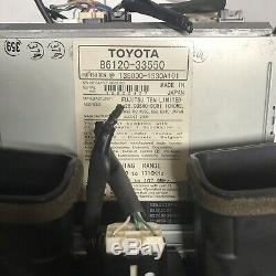 02-06 Lexus Es300 Es330 Radio CD Navigation Gps Commandes Dash Bezel Écran 03 04