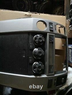 03 04 05 06 07-09 4runner Radio Climate Control Dash Lunette / Coupe Centrale Oem