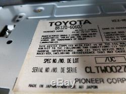 03 04 05 06 07 Toyota Land Cruiser Radio Ac Climate Control Dash W Bezel Oem