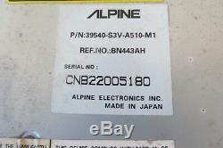 03 04 Acura MDX Système De Navigation Gps Dvd-rom Lecteur Lecteur Oem Alpine