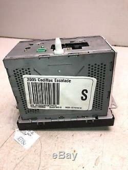 03-06 Sierra Yukon Escalade Lux Récepteur Radio Am Fm CD Gps Navi Oem Gm R2134