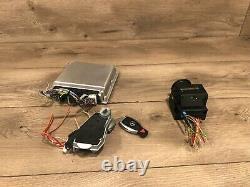 03-2005 Mercedes W211 W203 C320 E320 C240 Moteur Dme Ecu Clé D'allumage Oem