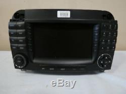 04 05 06 Récepteur Radio Mercedes W220 Classe S Am Fm CD Gps Navigation Écran Oem