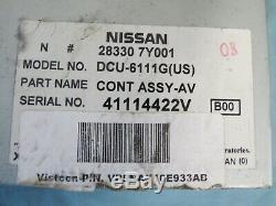 04-05 Titan Maxima Armada Qx56 Information Pilote Gps Assist Control Unit 28330-7y001