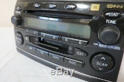 04 05 Toyota Sienna Am Fm Radio CD Cassette Récepteur Lecteur Oem Display Jbl