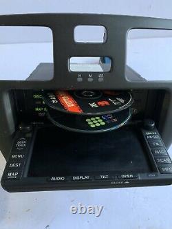 04-06 Lexus Es300 Es330 Radio CD Gps Navigation Controls Dash Bezel Screen Nav