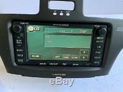 04-06 Lexus Es300 Es330 Radio CD Navigation Gps Commandes Dash Bezel Écran Nav