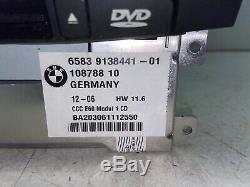 04-07 Bmw 525 530 535 545 550 645 650 M5 M6 Oem Navigation Radio Drive DVD X1195