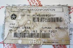 04-08 Chrysler Pacifica Gps Système De Navigation Dvd-rom Lecteur Lecteur Oem