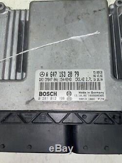 05-06 Dodge Sprinter Van 2.7l Diesel Unité De Commande Du Moteur Ecu Ecm Module X2608