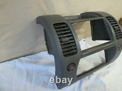 05-12 Nissan Pathfinder Xterra Radio CD Player Climate Control Bezel Dash Oem