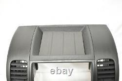 05-12 Nissan Xterra Radio CD Player Climate Control Bezel Dash C402