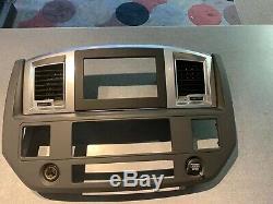 06 07 08 09 10 Dodge Ram Radio Player Panneau De Configuration Ac Climate Dash Bezel Oem