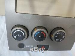 06-07 Nissan Titan Ac Atc Heat Temp Climate Control Dash Bezel Oem 27500-zh300