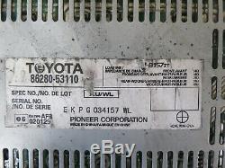 06-09 Lexus Is250 Is350 Stéréo Audio Radio Amp Amplificateur Module Unité Pioneer