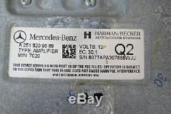06-12 Mercedes W251 W164 R ML Gl Équipement Audio Hifi Amplificateur Amp Module