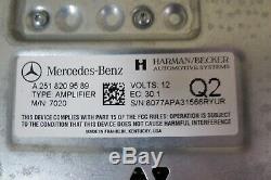 06-12 Mercedes W251 W164 R Module D'amplificateur Hifi Pour Amplificateur Hifi De Matériel Audio