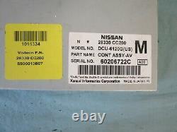 06 2006 Murano Maxima Armada Qx56 Info Gps Driver Assist Control 28330-cc200