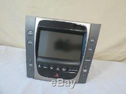 07 2007 Lexus Gs350 Gs430 Gps Ac Climate Control Audio Dash Écran Oem Denso