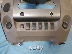 08 09 10 11 12 Nissan Titan Radio Climate Control Lecteur Dash Centre Bezel Oem