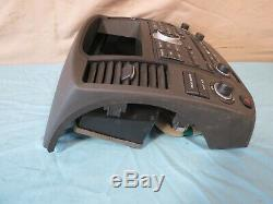 08 09 10 12 Nissan Pathfinder Radio 6 CD Oem Climate Control Bezel Bose