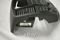 08-12 Nissan Pathfinder Bose Radio Player 6 CD Bezel Climate Control H154
