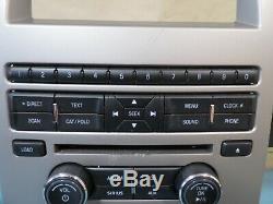 10 11 12 Ford Flex Sirius Radio Aux Ac Panneau De Configuration Oem Climate Dash Bezel