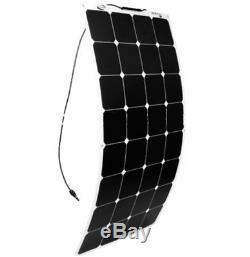 100w Complet Mono Flexible Système Solaire Kit Module 10a Contrôleur Câble Rv