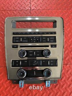 11-14 Ford Mustang Radio Aux Ac Climate Control Panel Dash Oem Br3t-18a802-ja
