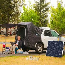 160w 18v Flexible Panneau Solaire Mono Module Bateau Accueil Caravane 12v Batterie Charging
