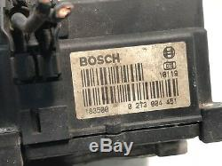 1999 2003 Saab 9-3 Anti Système De Freinage Abs Module De Contrôle De L'unité 0 273 004 451 Oem