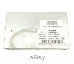 2005-2006 Système Infiniti Qx56 Navigation Gps Module De Commande Oem 28330-zc00a