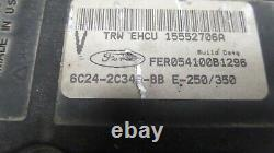 2006 06 Ford E350 E250 Abs Pump Anti Lock Brake Module 6c24-2c346-bb