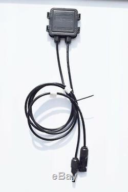 200w 18v Système De Kit De Panneau Solaire 2x 100w Mono Contrôleur De Module 20a Voiture De Toit